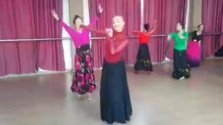 三亚湾海月广场 尼格尔老师和小红老师精彩新疆舞