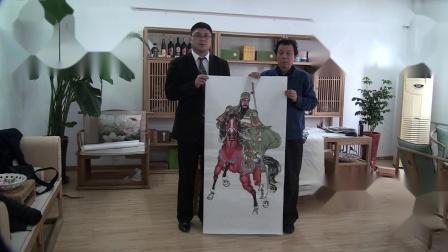 文化部艺术品评估委员会委员,著名画家高强主席作品欣赏【江改银报道】