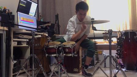 【BLACKPINK DDU DU-DDU DU(remix)】打击乐cover