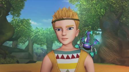 爆兽猎人:看到小爱的爆兽,米娜非常羡慕,爆兽真是可遇不可求