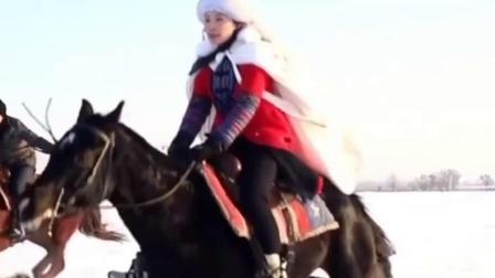 呼伦贝尔大草原冬季赛马