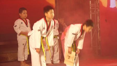 09《跆拳小白》长坡天一跆拳道 -2020年朵朵武道中心文艺汇演