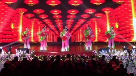 麻山区2020年新春联欢会 舞蹈《快乐中国节》