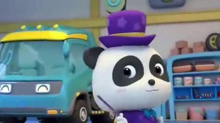 宝宝巴士动画片:怪兽卡车比赛开始了,来看看谁跑的快呢