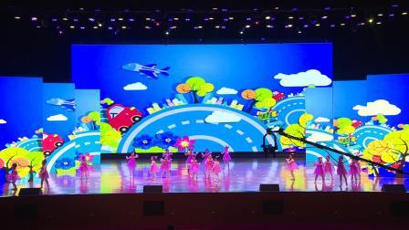 """王云舞蹈艺术培训学校""""2020年新春汇报演出"""" 资州印象校区  《一双小小手》"""