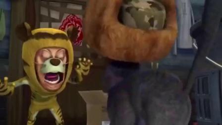 熊出没之夺宝熊兵:光头强收到了李老板寄来的万能手表
