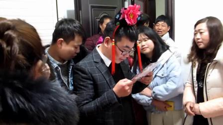 2020年1月16日(农历腊月廿二日)团林乡陈彪、夏琦琦结婚庆典
