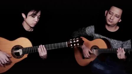 小蒋吉他 玫瑰木缺角弗拉门戈 米老师即兴演奏