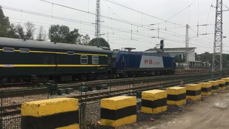宣杭线 泗安站 K606次通过