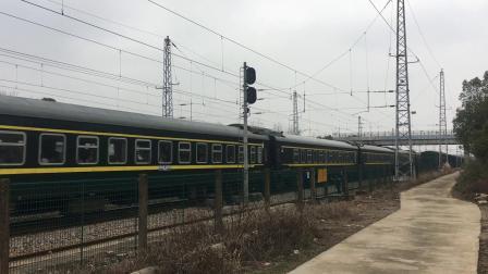 宣杭线 泗安站 K1152次通过
