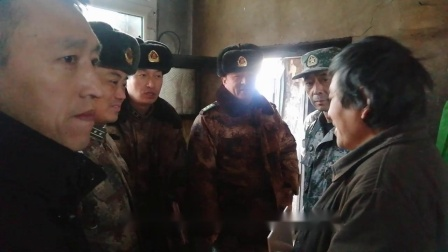 黑龙江陆军预备役步兵师炮兵团精准扶贫春节慰问纪实