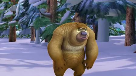 熊出没:熊二半路跑不动了,就会拖熊大后腿