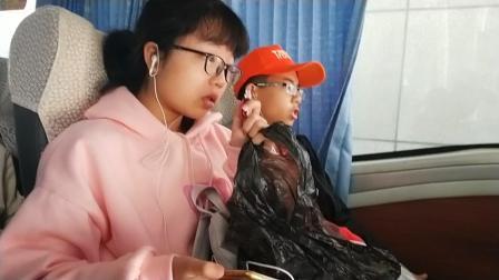 《杨皓棋和他的班级》广东两阳中学高一15班纪录片  2020-1-18,第47集  广州研学 -7-广东科技中心   更重要的,我们治疗晕车的妙招实验成功。