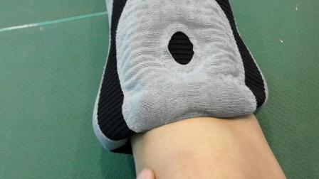 羚途护膝打羽毛球实测