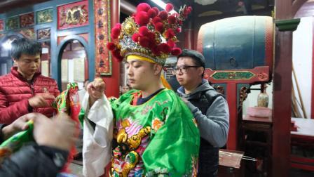 己亥年腊月廿四石庭宫送神仪式
