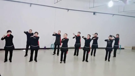 十月时尚舞蹈队~黄玫瑰