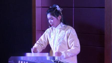 邵东市汉服协会年会表演节目古筝曲《不谓侠》