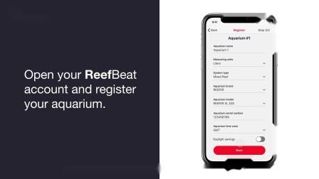 了解如何把ReefWave造流泵连接到您的iPhone设备