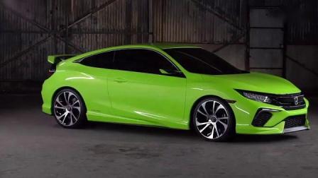 东风Honda CIVIC Hatchback Concept概念车 2020年4月20日上海国际车展B2-B4