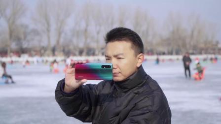 OPPO Reno3 Pro挑战冰面防抖,猜猜跑起来还稳吗?