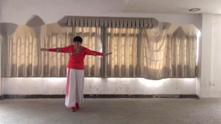 凤秀表演《一朵云在蓝天上飘过》熙旗舞蹈队欢度2020年春节联谊会 2020年1月19日