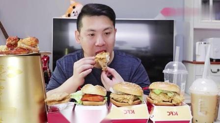 好久不吃肯德基了,连那里工作人员都说好久不来了,过年要长胖了
