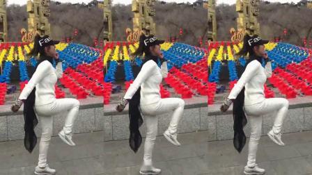 姐妹16步广场舞鬼步舞教学《一生无悔》简单好学