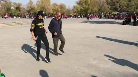 广场舞鬼步舞教学《绿洲之恋》大妈一看就会跳鬼步舞基础教学