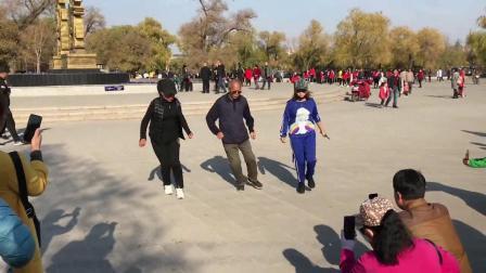 广场舞鬼步舞教学《唱一首情歌》适合大众学跳鬼步舞