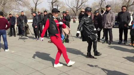 广场舞鬼步舞教学《黄土地上》非常好学的水兵舞风格鬼步舞基础动作