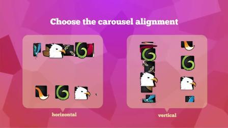 AE脚本:LOGO图片三维空间旋转展示动画脚本 Carousel Creator+使用教程