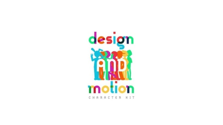 AE模板 Design and Motion Character Kit
