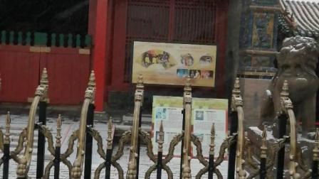 沈阳市沈河区沈阳故宫雪景视频