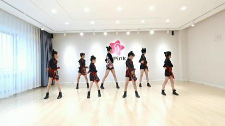 青岛SPink舞蹈 萌娃帅气中国风爵士舞【下山】