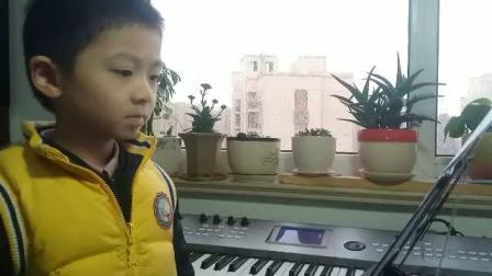 6岁童声翻唱《鸿雁》,林小凡演唱。