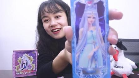 这次拆两包叶罗丽,抽中的两张SR卡片你更喜欢哪个