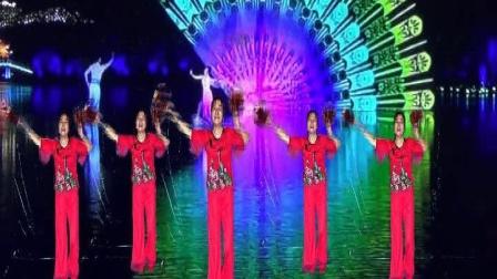 荆门市政广场舞《欢乐中国年》