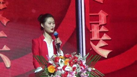 全国短视频(直播)电商春晚,在世界最大的蒙古包式剧院---哈萨尔大剧院举行,通辽发布左翼中旗.摄影:彭福森
