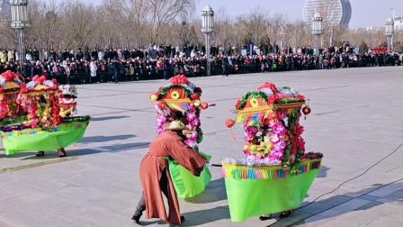平罗县2020年迎新春社火展演红崖子乡社火大赛荣获优秀奖:拍摄张福忠。