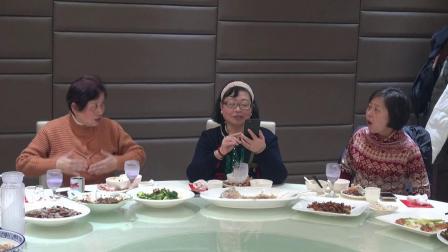 贾政华夫妇传媒人家宴请老同事 2019.1.13