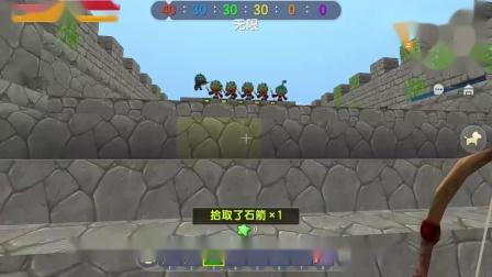 迷你世界:趣味运动会,小宇是种子选手,在比赛中,我获得全能王