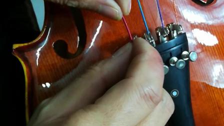 小提琴初学动作基本安装