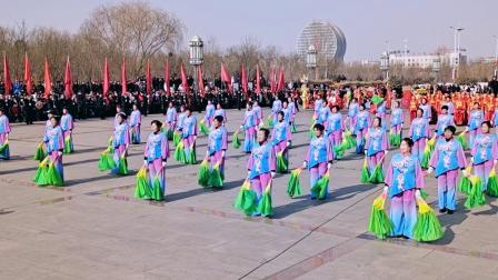 平罗县2020年迎新春社火展演高仁乡社队大赛荣获优秀奖:拍摄张福忠。