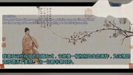 自得琴社【箫】《梅花三弄》外国网友:太完美了!