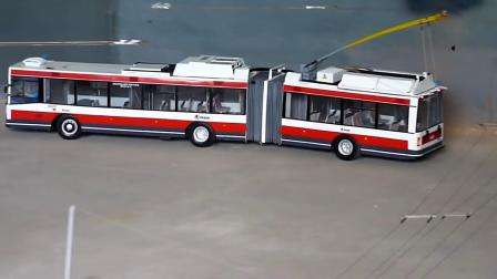 Skoda 22Tr 无轨电车模型