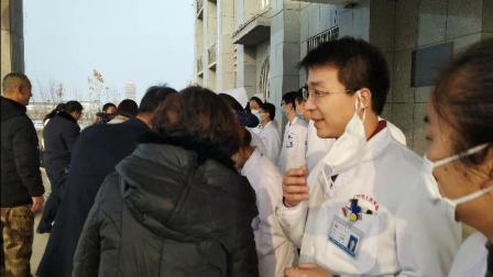 大年 三十 兵团第二师铁门关市党委、吴彬慰问值班医务人员和看望病人