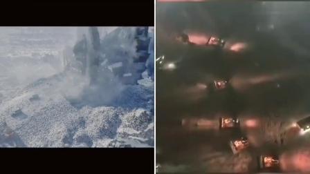 【剪辑】火神山医院建院视频vs流浪地球