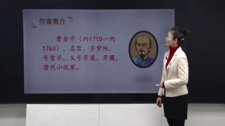 第8课红楼春趣统编五年级语文下册