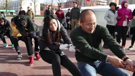中国农业大学出版社代表队参加学校拔河比赛