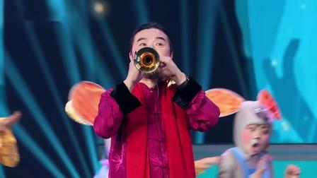 """广东卫视春晚大变浪漫婚礼现场,""""金鼠""""抬轿迎亲好热闹"""